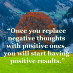 easy way to remove negative thoughts