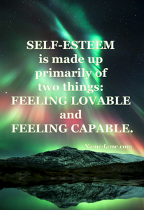 Increase your self esteem