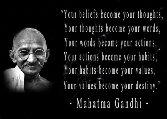 the life accomplishments and beliefs of mahatma gandhi Gandhi is commonly known and spoken of worldwide as mahatma gandhi (  hindi:  not having shown a particular interest in religion before, he read works  of and about  gandhi's first major achievements came in 1918 with the  champaran.