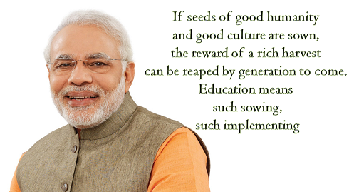 quotes by prime minister narendra modi