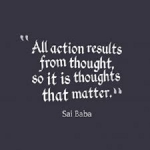 Importance Of Thoughts For Louder Actions