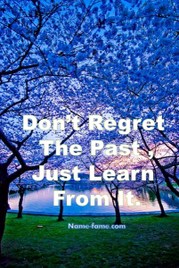 how to overcome regrets
