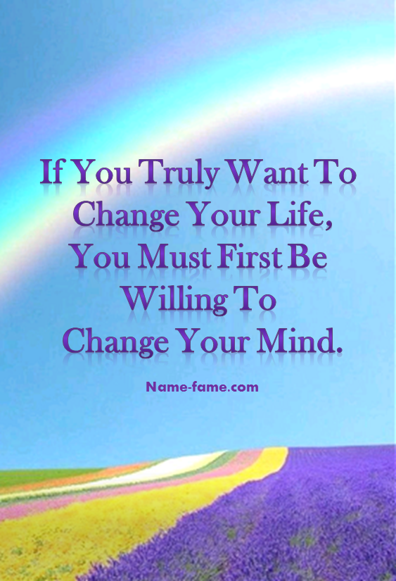 Quotes To Change Your Life Positively. U201c