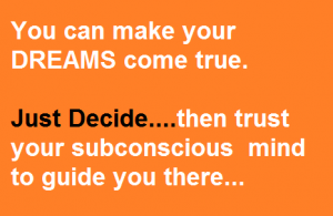 how to use subconscious mind to achieve great success