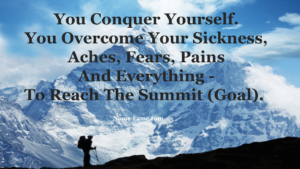 How To Conquer Yourself To Achieve Your Goals