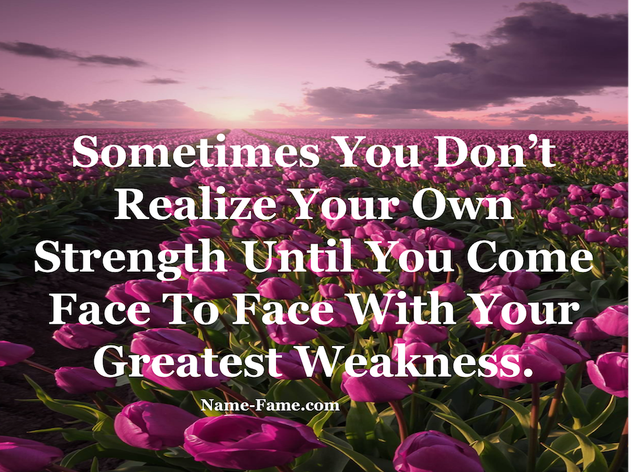 Quotes To Overcome The Weakness In Your Mind