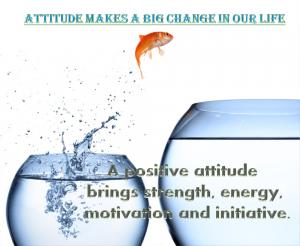 Importance of attitude
