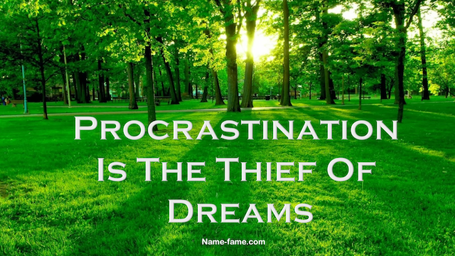 Reasons For Procrastination And How To Overcome It