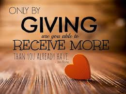 The Virtue Of Giving - A little Grain Of Gold