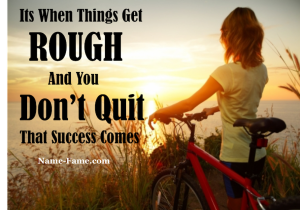 Don't Quit On Yourself story
