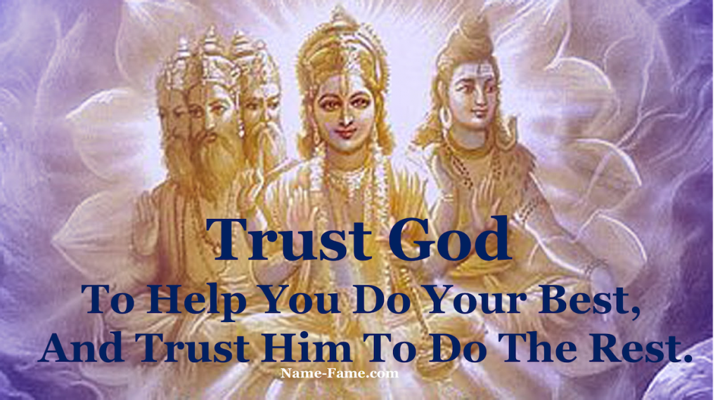 How to Develop Trust in God
