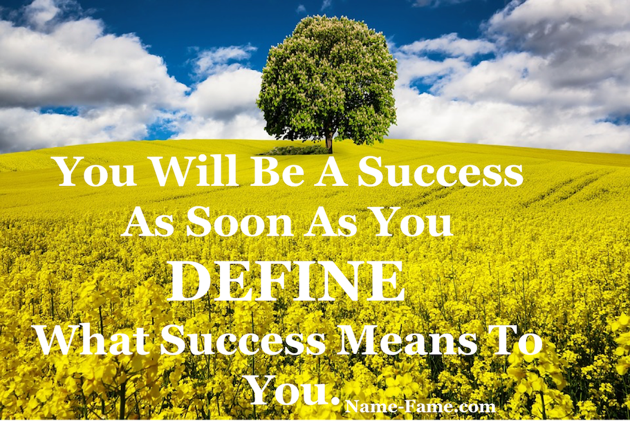 What Is Success For You?