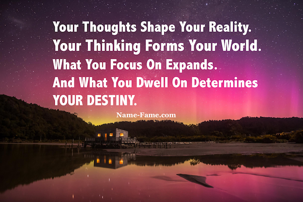 Learn The Truth - Why Our Thoughts Shape Our Reality