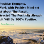 How To Practice Positive Thoughts