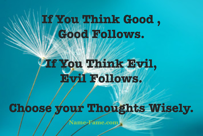 Thoughts - Think Wisely