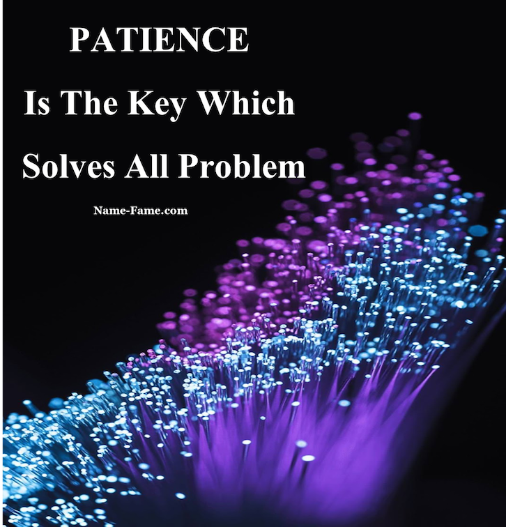 Inspiring Story: Why Patience Is Very Important