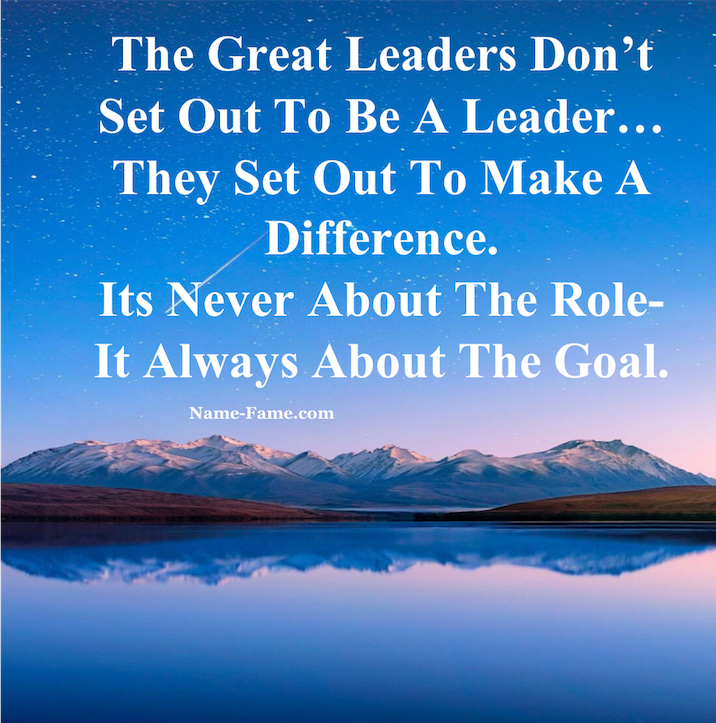 Ways to Become A Great And Successful Leader